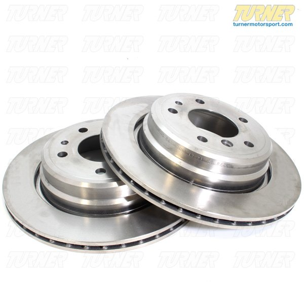 T#12134 - TMS12134 - Cross-Drilled Brake Rotors - Front - E46 M3 CSL/ZCP MZ4 (pair)  - StopTech - BMW