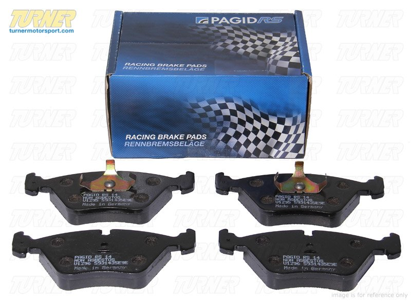 T#1475 - TMS1475 - Pagid RSL29 Endurance Racing Brake Pads - Rear - E46 330/M3, E39 M5, E38 all, E53 X5 all, E83 X3 all, Z4 M, Z8 - Pagid - BMW