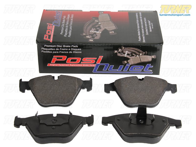 T#224303 - TMS224303 - Centric Posi Quiet Brake Pads - Front - E53 X5 4.6is, 4.8is - Centric - BMW