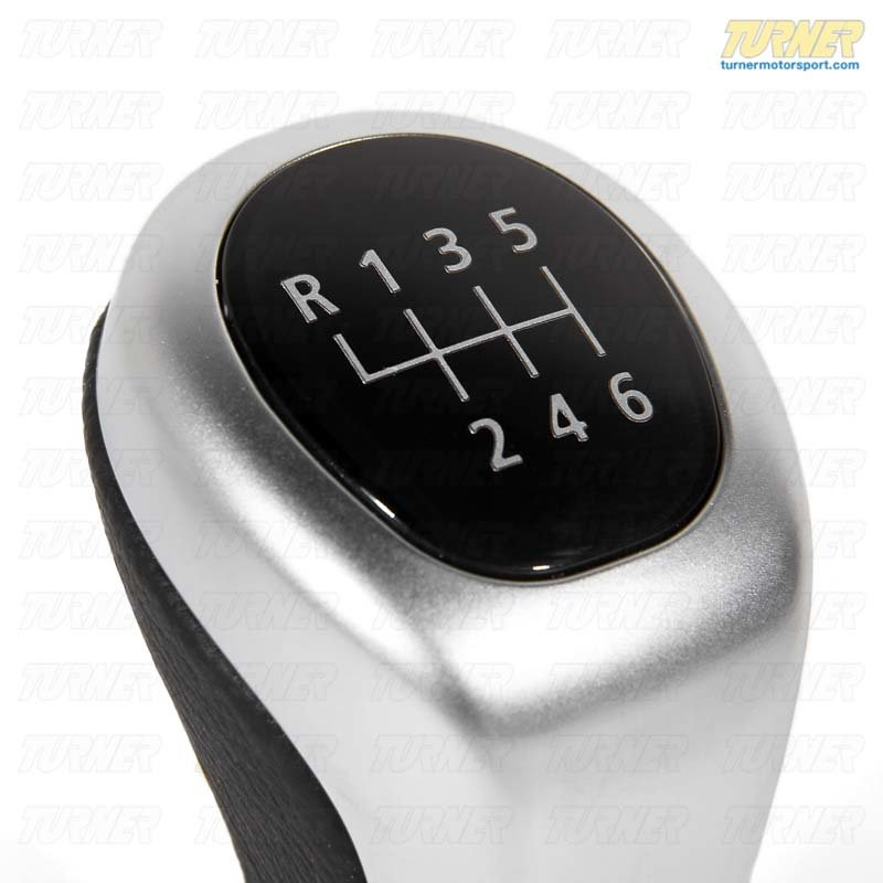 T#52922 - 25117566267 - Genuine BMW Leather Shift Knob/6-speed/c - 25117566267 - Genuine BMW -