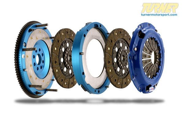 T#340504 - TMS340504 - UUC Twin Disk Flywheel / Clutch Package - E46 323/325/328/330 w 5 Speed Transmission - UUC -