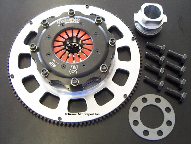 T#340509 - WCCLUTCH - E36, E46 JB Racing Ultra-Light Racing Clutch/Flywheel Assembly - JB Racing - BMW