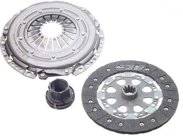 T#4182 - 21211223571 - OEM LuK Clutch Kit - E30, E36 318i/is, Z3 1.9 with AC - LUK - BMW