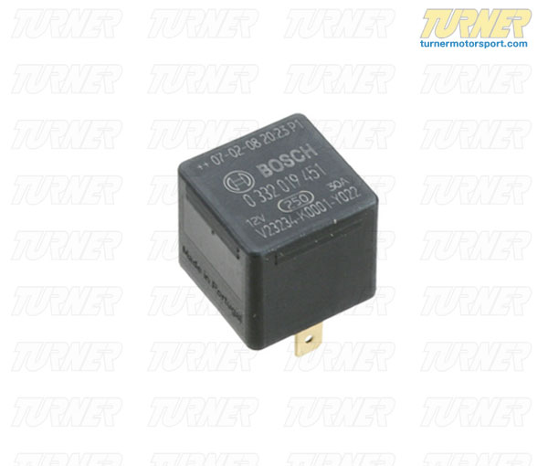 T#2857 - 61311373585 - Relay - 4 Prong - see applications below - Bosch - BMW