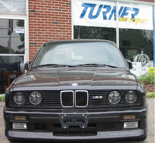 T#4088 - E30EARLYSMOKEK - E28, E30 318i/325i 1984-88, E30 M3 Smoked Front Turn Signals (pair) - Turner Motorsport - BMW