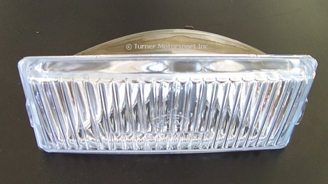 T#3939 - 63171375067 - OEM Hella Fog Light Lens - Left - E30 M3, E28 M5, E28 535is - Hella - BMW