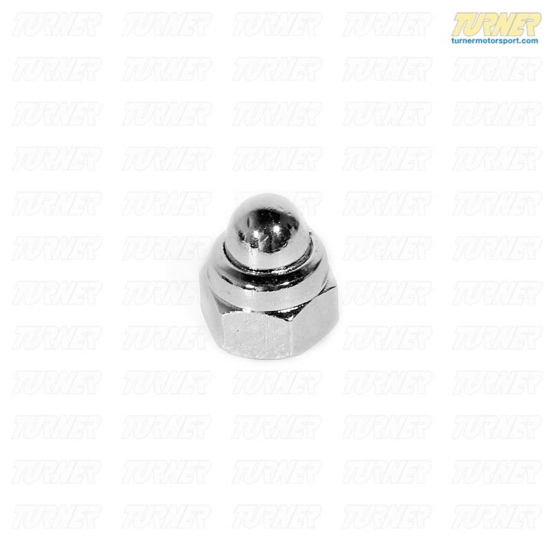 T#25028 - 07119924324 - Genuine BMW Cap Nut, Chrome - 07119924324 - E30,E30 M3 - Genuine BMW -