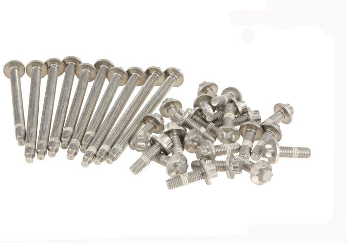 T#31758 - 11132210959 - Set Of Aluminium Oil Pan Screws - Automatic Transmission - Genuine BMW -