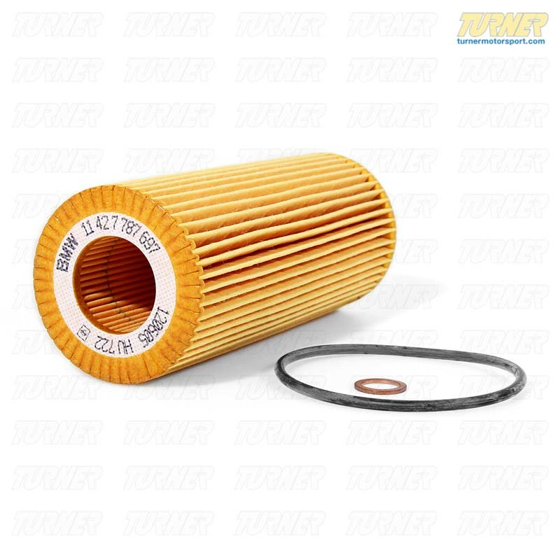 T#14536 - 11427787697 - Genuine BMW Engine Set Oil Filter Element 11427787697 - Genuine BMW -