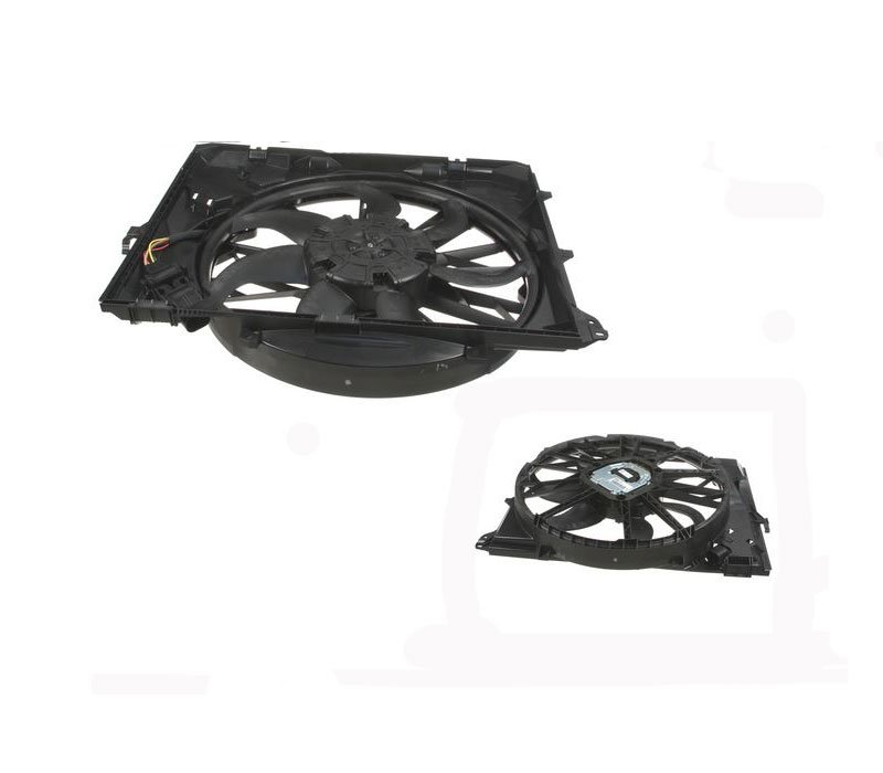 T#47107 - 17427562080 - OEM BMW Electric Engine Fan - E82 E90 E92 E93 - ACM - BMW