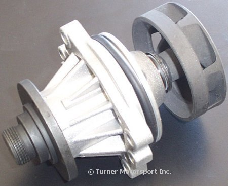 T#3984 - 11511433828 - Water Pump - M50, M52, M52TU, and M54 Engines with Metal Impeller - Geba - BMW
