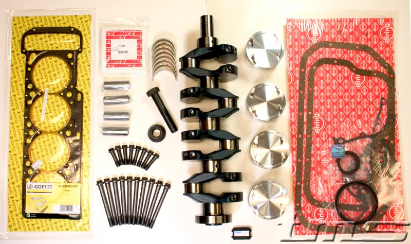 T#3397 - 11211316979KIT - E30 M3 2.5 liter Stroker Kit for S14 Engine - Turner Motorsport - BMW