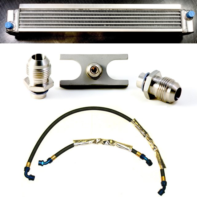 T#4031 - TMS4031 - E46 M3 Turner Motorsport Fluidyne Oil Cooler Kit - Turner Motorsport - BMW