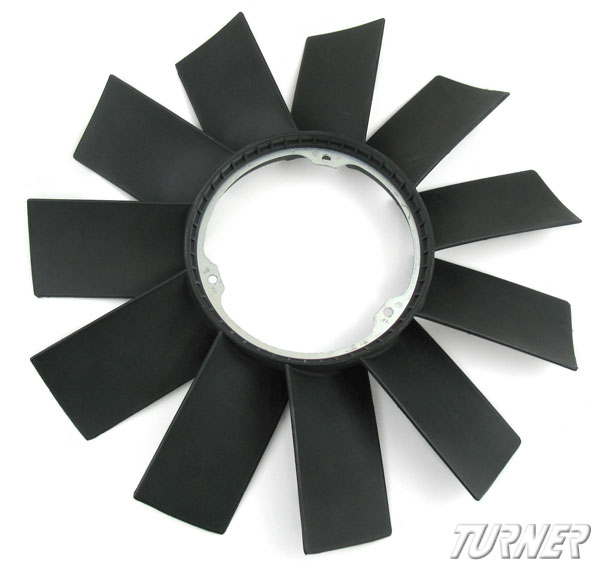 T#1287 - 11521712058 - Engine Fan - 11 Blades, 420mm - Many 6 Cylinders - URO - BMW