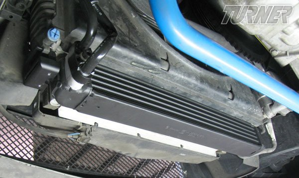 T#1658 - TMS1658 - E36 323/325/328/M3 Turner Motorsport Oil Cooler Kit - Stage 1 with Euro Oil Cooler - Turner Motorsport - BMW