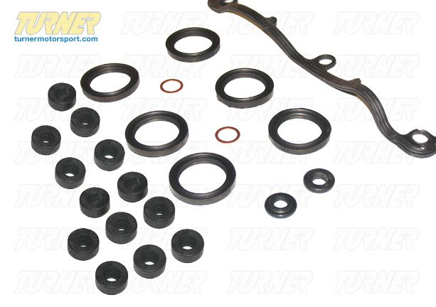 T#1448 - 11127832034KIT - Valve Cover Gasket Kit for S54 Engine - E46 M3, MZ3, Z4 M - Genuine BMW - BMW