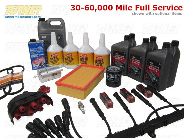 T#14309 - TMS14309 - E34 535i Maintenance Service Package - Packaged by Turner -