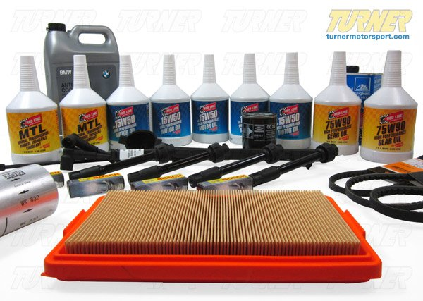 T#14346 - TMS14346 - E34 M5 Maintenance Service Package - Packaged by Turner -