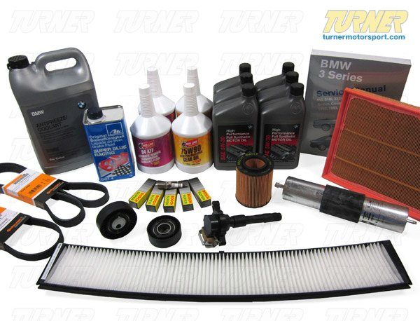 T#14360 - TMS14360 - E60 525i/xi, 528i/xi, 530i/xi 2006-2010 Maintenance Service Package - Packaged by Turner -