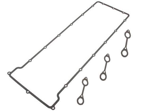 T#2076 - 11121312172-173 - Valve Cover Gasket Set - E34 M5 E28 M5 E24 M6 - S38 engine - Elring - BMW