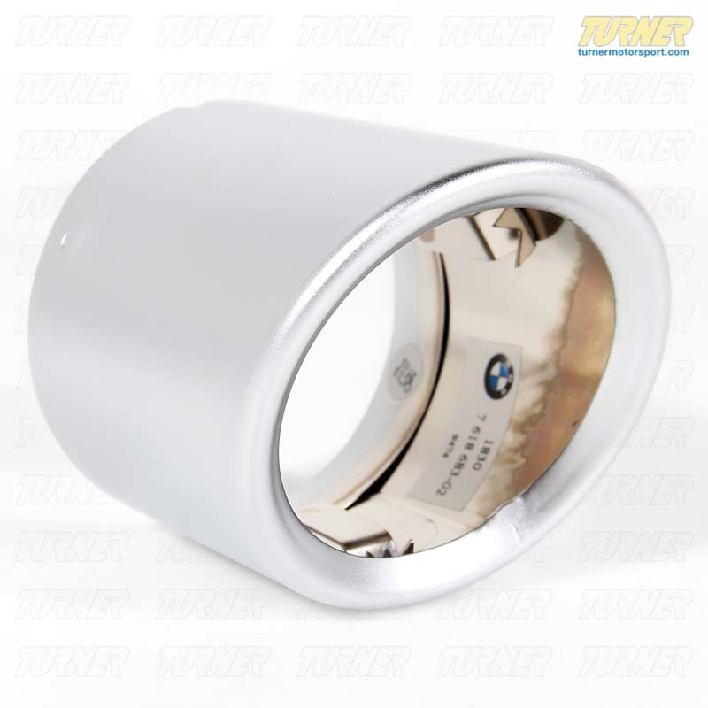 T#22638 - 18307618683 - Genuine BMW Exhaust Tip - E89 Z4 Sdrive28i, X1 28i - Genuine BMW - BMW