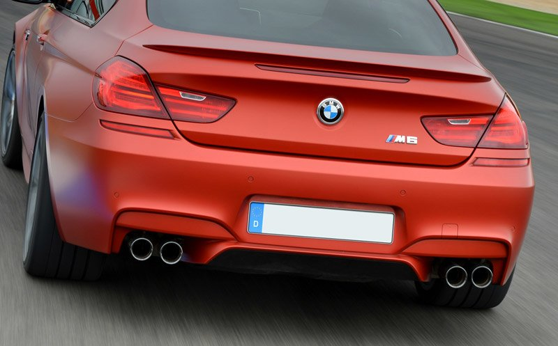 T#193570 - TMS193570 - F13 M6, F06 M6 Gran Coupe BMW Competition Package Exhaust Upgrade - Genuine BMW - BMW