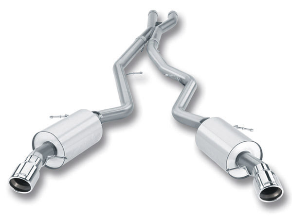 T#4176 - 140276 - E90 E92 335i/335xi Borla S-Type Aggressive Sport Exhaust - Cat-Back Rear Section, Mufflers - Borla - BMW