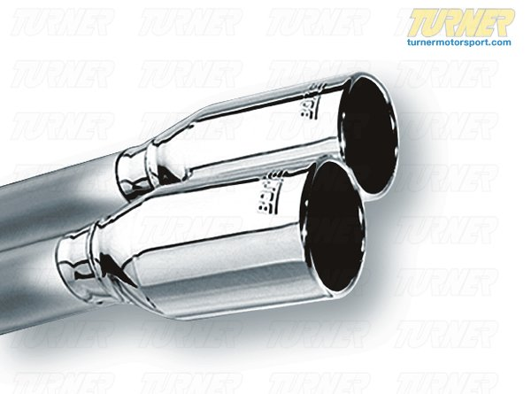 T#5733 - 140394 - E46 M3 Borla ATAK Exhaust - Section 2, Rear Mufflers - Borla -