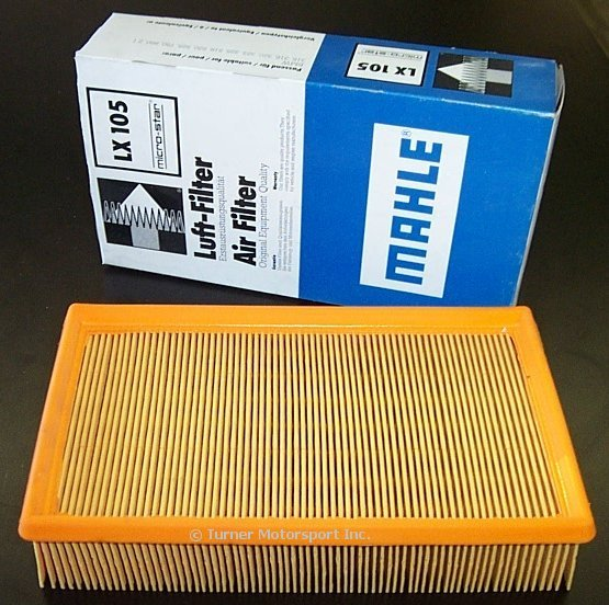 T#1604 - 13721247405 - OEM Air Filter - E36/Z3 4-Cyl - Mahle - BMW