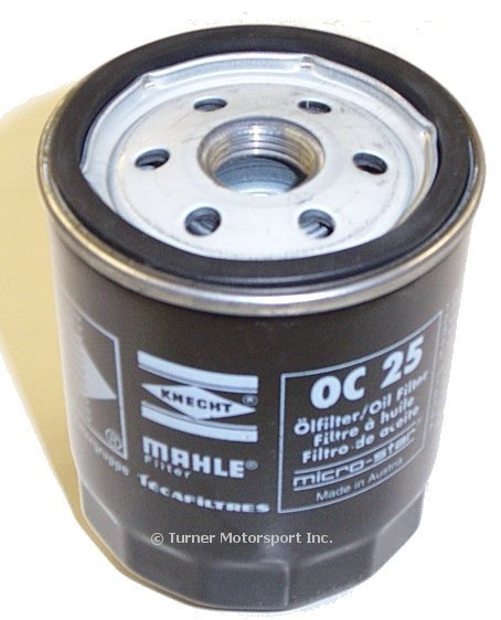 T#3726 - OC25 - OEM Mahle/Mann Oil Filter E30 M3 1987-1991 (S14 Engine) - Mahle - BMW