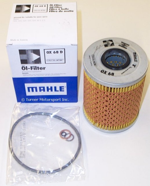 T#3720 - OX68D - OEM Mahle Oil Filter for E36 E34 Z3 - Mahle - BMW