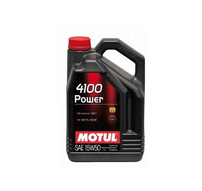 Mosy 15w50 5l Motul 4100 15w 50 Synergie Engine Oil 5 Liter Bottle Turner Motorsport