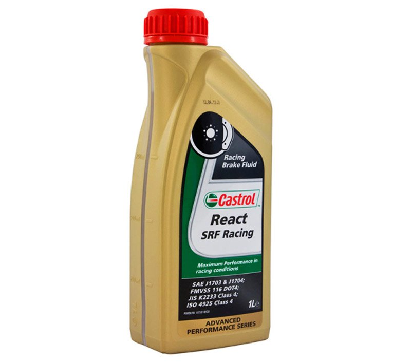 T#809 - SRF - Castrol SRF Racing Brake Fluid (Liter Bottle) - Castrol - BMW MINI