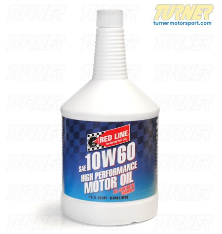 T#912 - 1-MT10W60-Q - Red Line 10W-60 High Performance All-Synthetic Engine Oil - Redline -