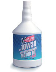 T#548 - 1-MT10W30-Q - Red Line 10W-30 Synthetic Engine Oil - Redline - BMW