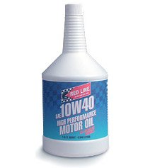 T#1081 - 1-MT10W40-Q - Red Line 10W-40 Synthetic Engine Oil - Redline - BMW MINI