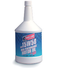 T#1108 - 1-MT15W50-Q - Red Line 15W-50 Synthetic Engine Oil - Redline - BMW