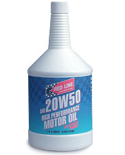 T#1225 - 1-MT20W50-Q - Red Line 20W-50 Synthetic Engine Oil - Redline -