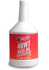 T#1131 - 1-MT40WT-Q - Red Line 40 WT SAE (15W-40) Race Engine Oil - Redline -