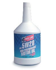 T#1133 - 1-MT5W20-Q - Red Line 5W-20 Synthetic Engine Oil - Redline - BMW