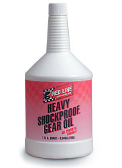 T#1234 - TMS1234 - Red Line Heavy ShockProof Gear Oil - Redline - BMW