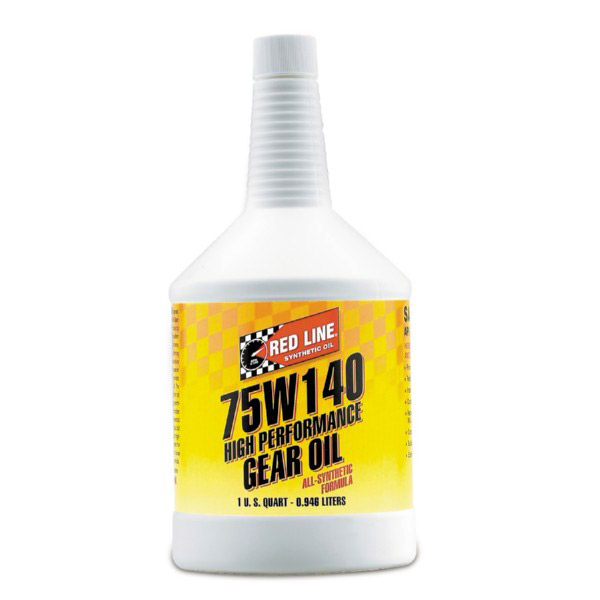 T#1126 - TMS1126 - Red Line 75W-140 Differential Gear Oil - Redline - BMW