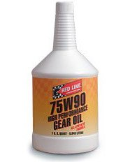 T#3605 - TMS3605 - Red Line 75W-90 Differential Gear Oil - Redline -