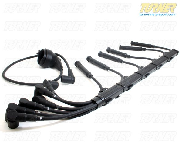 T#4041 - 12-7721 - 7mm Ignition Wire Set - E23 735i/L7, E24 635CSi 1984-6/87, E28 535i - Turner Motorsport - BMW