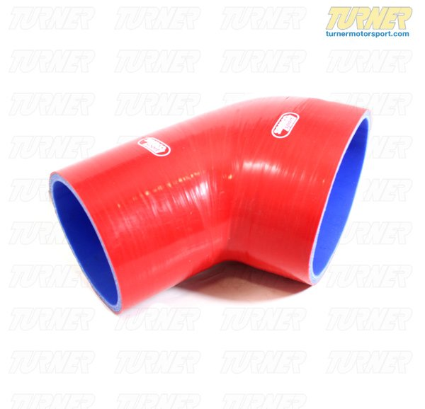 T#3132 - SAMCO-TB2754-RED - Samco Silicone Intake Boot - Red - E46 M3 - Samco -