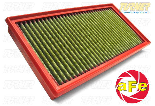 T#1689 - 30-10048 - aFe Pro5R Air Filter - E30 M3, 84-85 318i, 84-85 325e, 84-85 528e, All E12, E23, E24 (no M), E28 535i/is - AFE - BMW