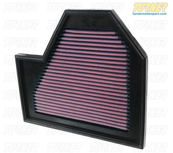 T#1762 - 33-2352 - K&N High Flow Air Filter E60 M5 & E63 M6 (Left Side) - K&N - BMW