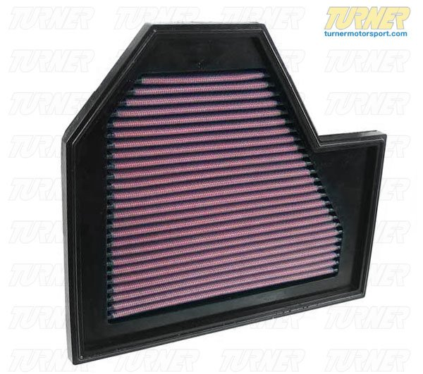 T#1623 - 33-2350 - K&N High Flow Air Filter E60 M5 & E63 M6 (Right Side) - K&N - BMW