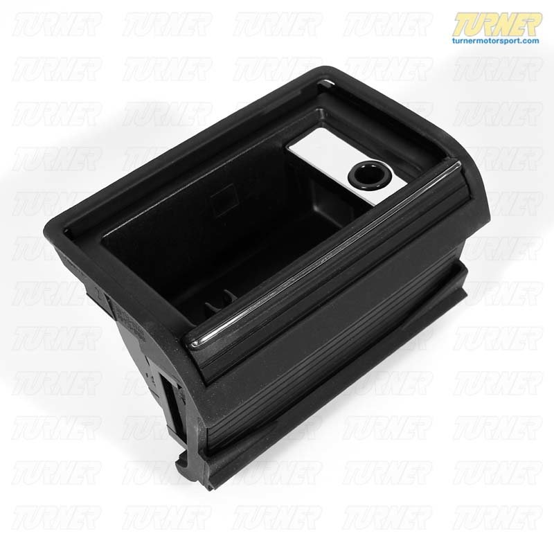 T#23772 - 51168258280 - Center Console Rear Ashtray - Black - E46 - Genuine BMW - BMW