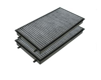 T#4574 - 64116921019 - Microfilter - Cabin Air Filter - Activated Charcoal (Pair) - E65 - Mann - BMW